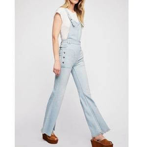 FREE PEOPLE We the Free Sparrow Utility Overalls